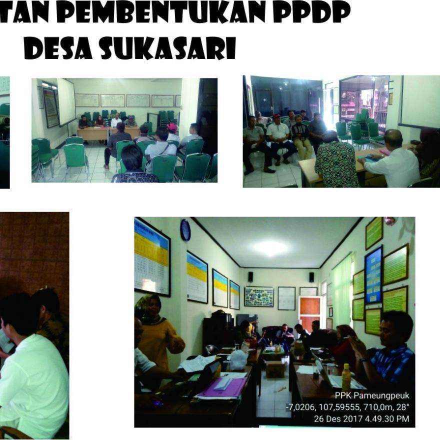 Sosialisasi Pembentukan PPDP Desa Sukasari